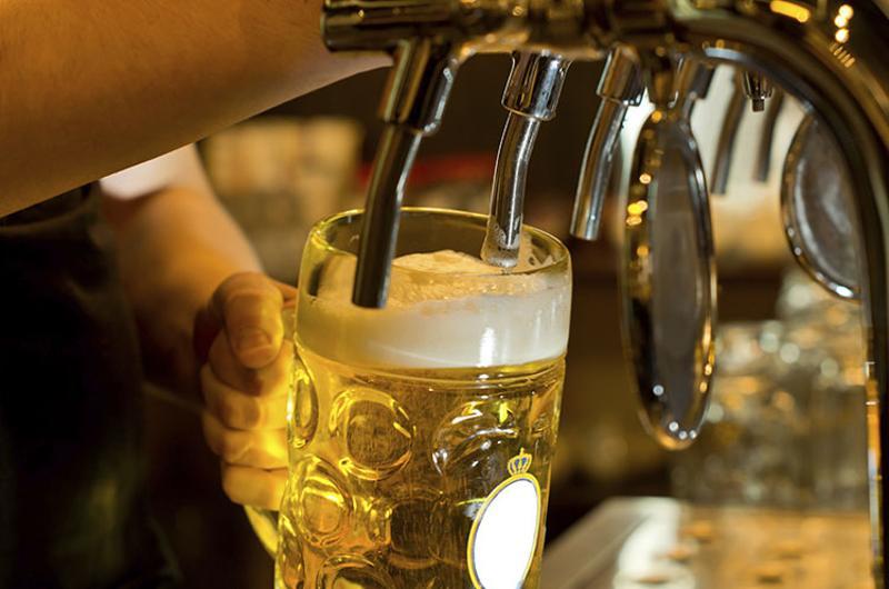 beer tap mug