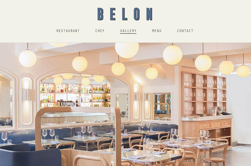 belon restaurant
