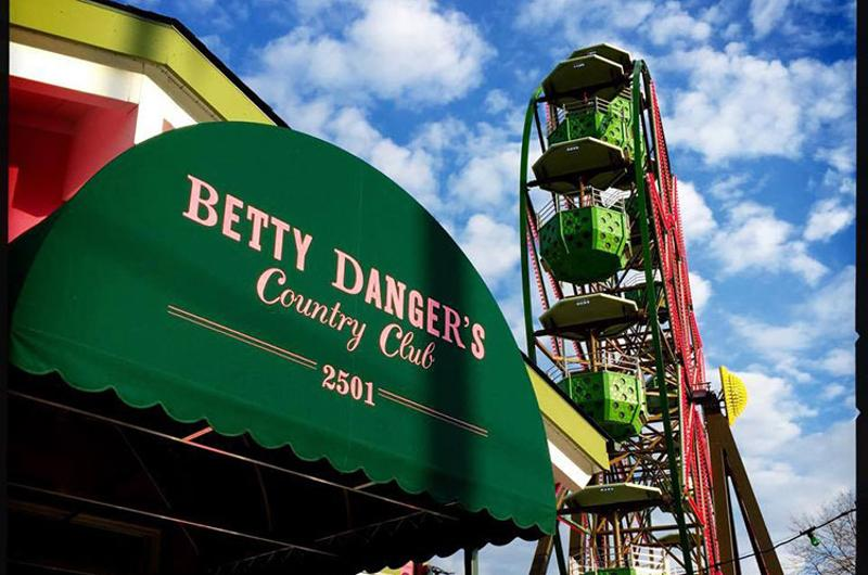 betty dangers exterior