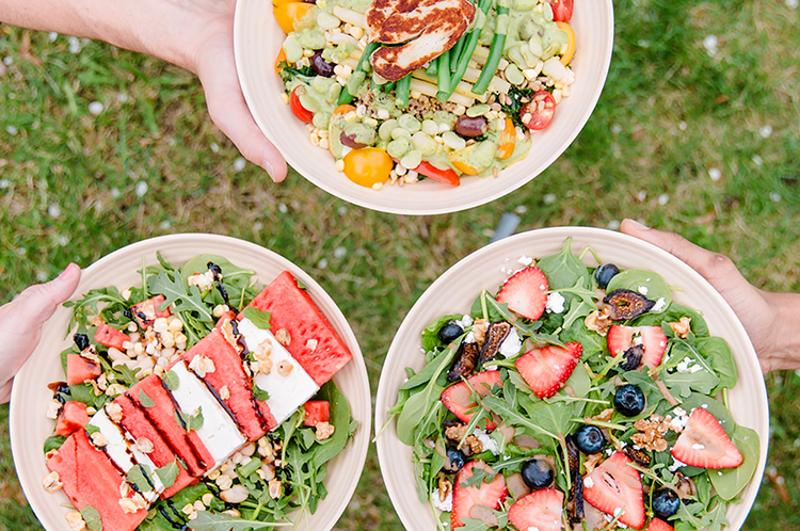 bgood summer food salads
