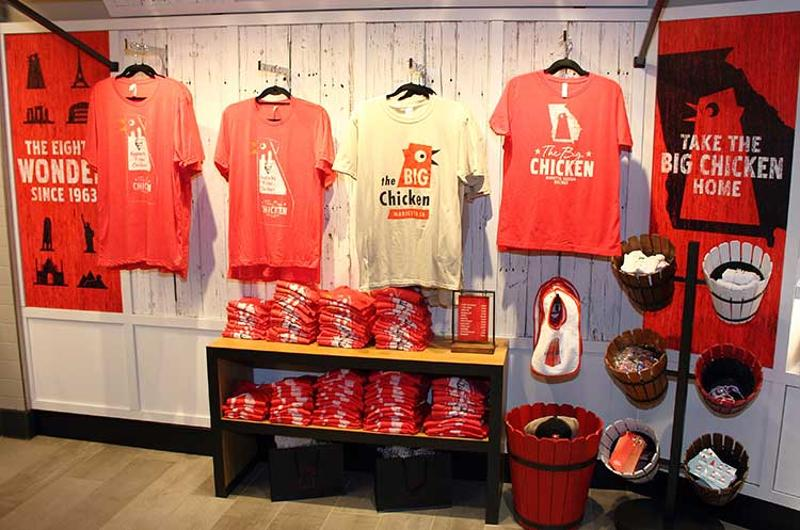 big chicken drink station