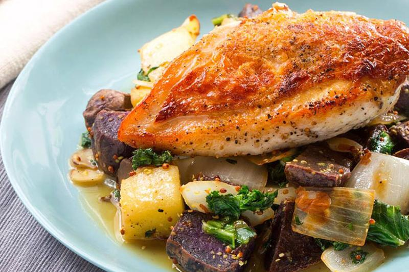 blue apron chicken potatoes