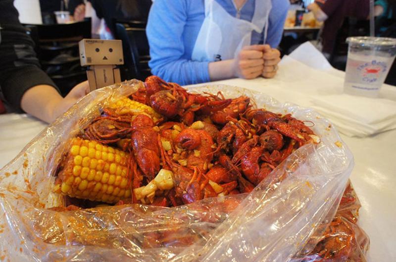boiling crab seafood bag