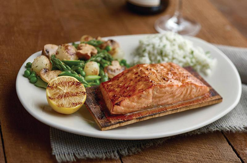 bonefish grill planked salmon
