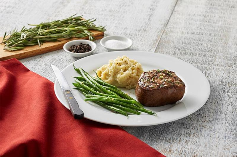 bravo brio filet green beans potatoes