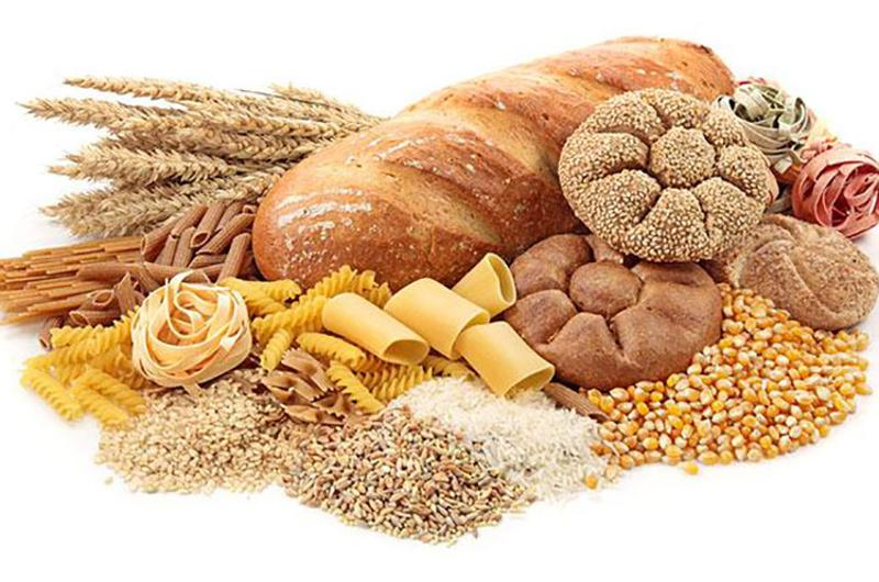 bread grains pasta