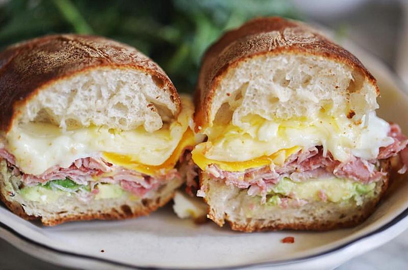 breakfast sandwich avocado