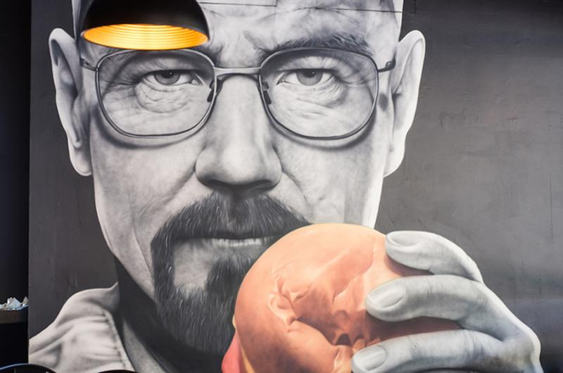 Burgers Anonymous, Breaking Bad Restaurant