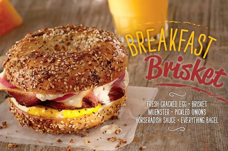 brueggers breakfast brisket