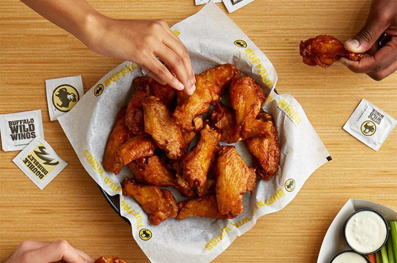 buffalo wild wings food