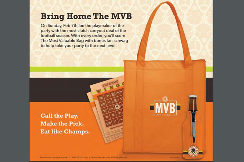 buffalo wings rings bag