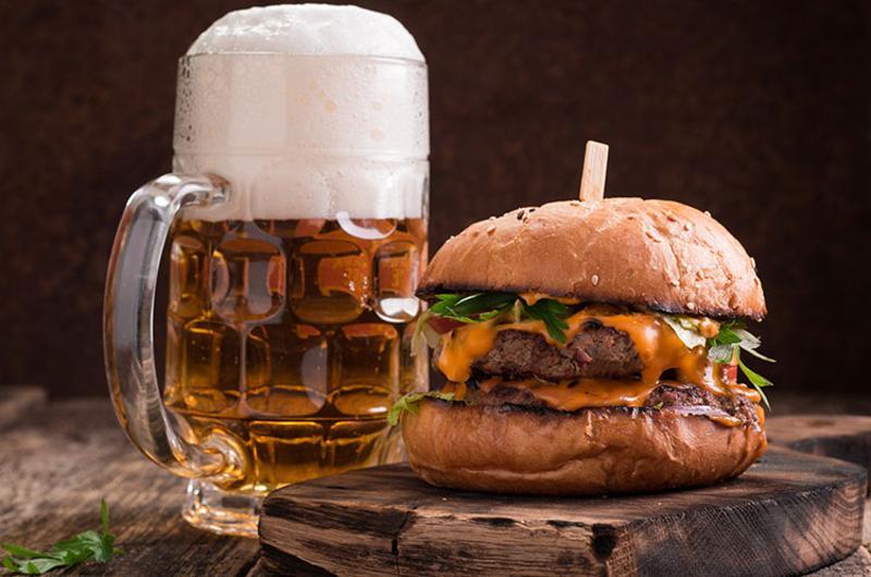 burger beer