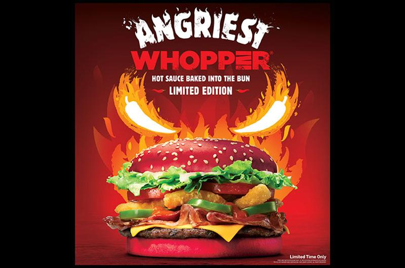 burger king angry whopper red bun