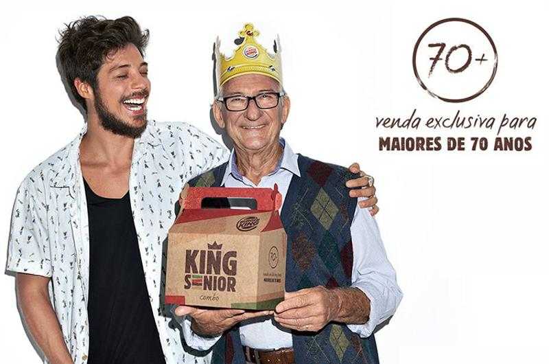 Burger King Brazil seniors-only combo deal