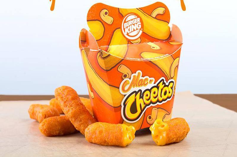 burger king mac cheetos