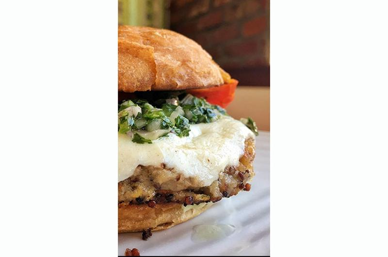 burger lounge veggie burger