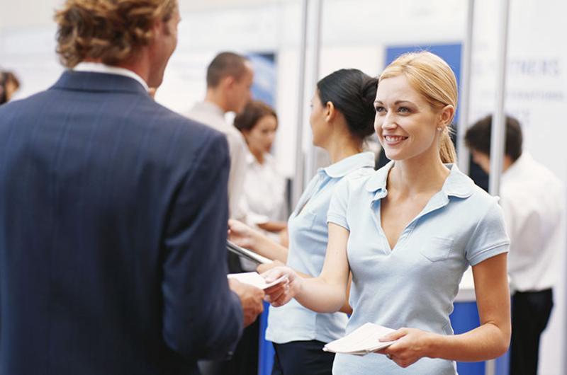business pamphlet fair show