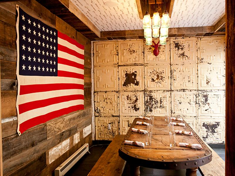 butcher and the rye dining nook