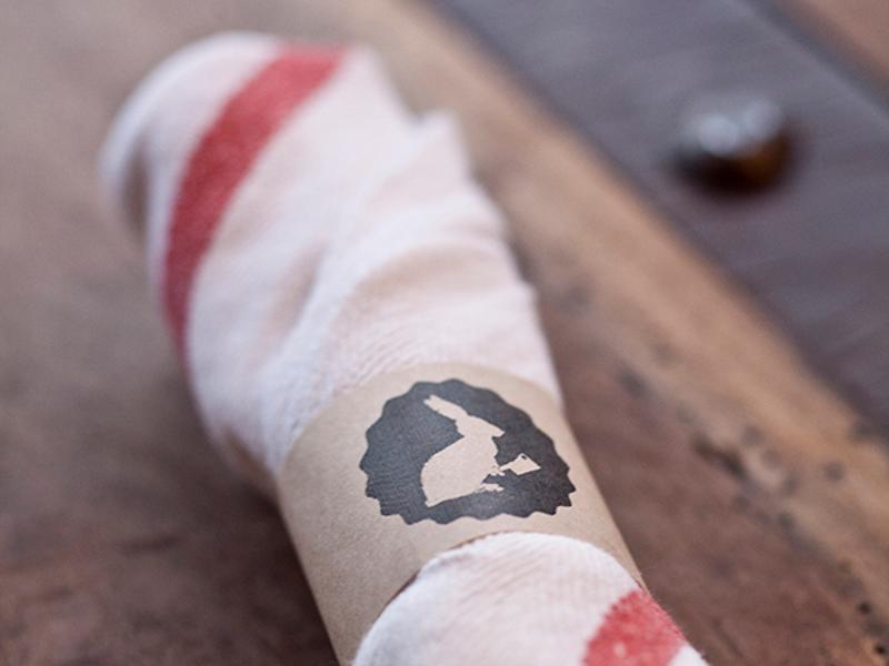 butcher and the rye napkin