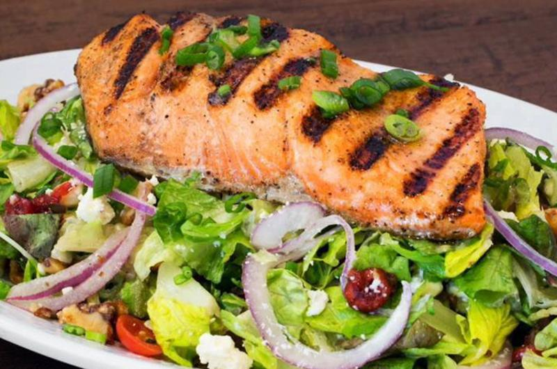 California Fish Grill salad