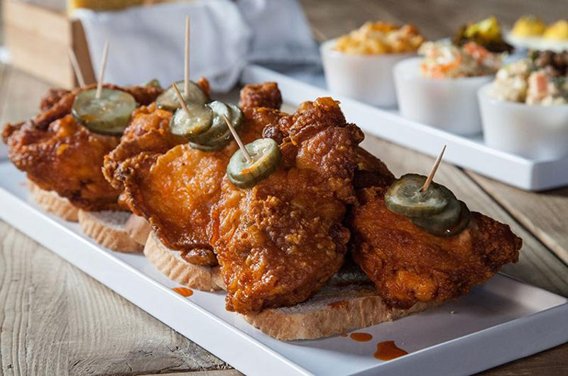 carla hall southern kitchen hot chicken