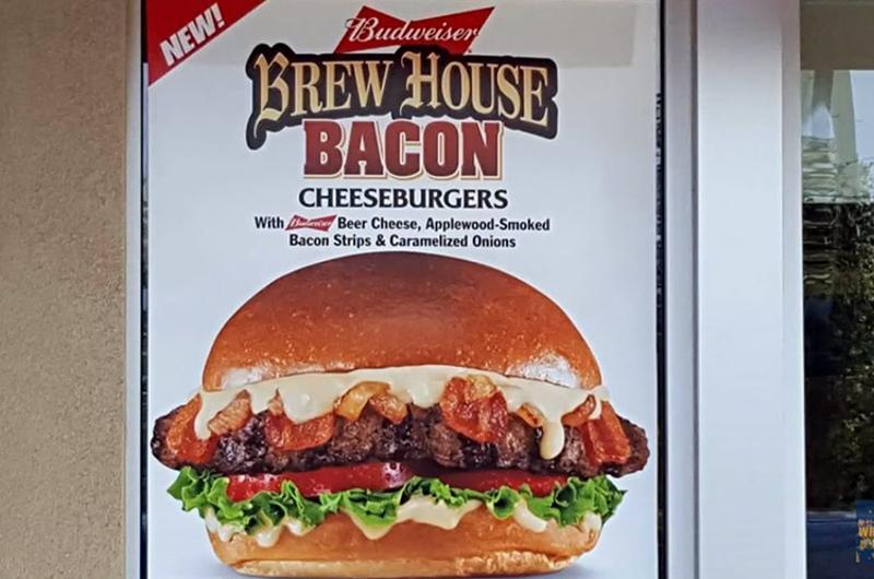 carls jr budweiser cheeseburger
