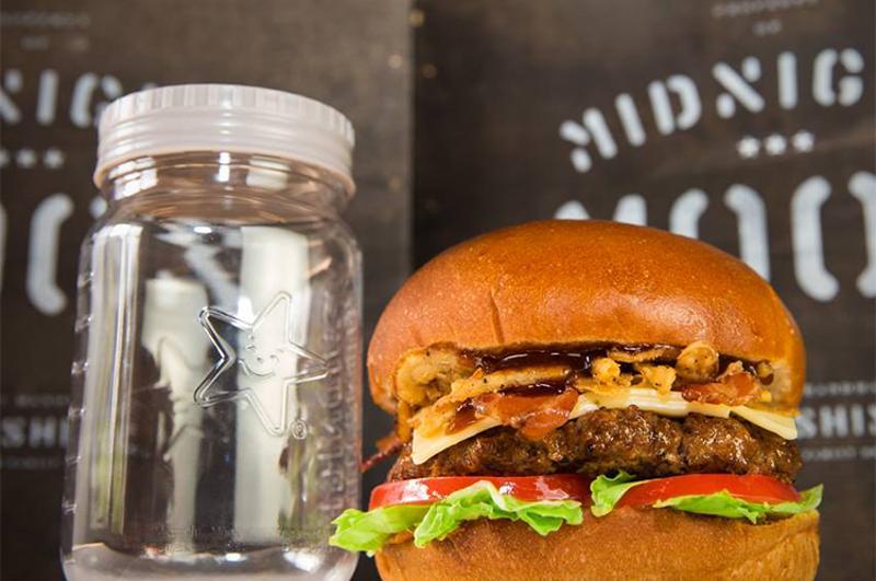 carls jr moonshine burger
