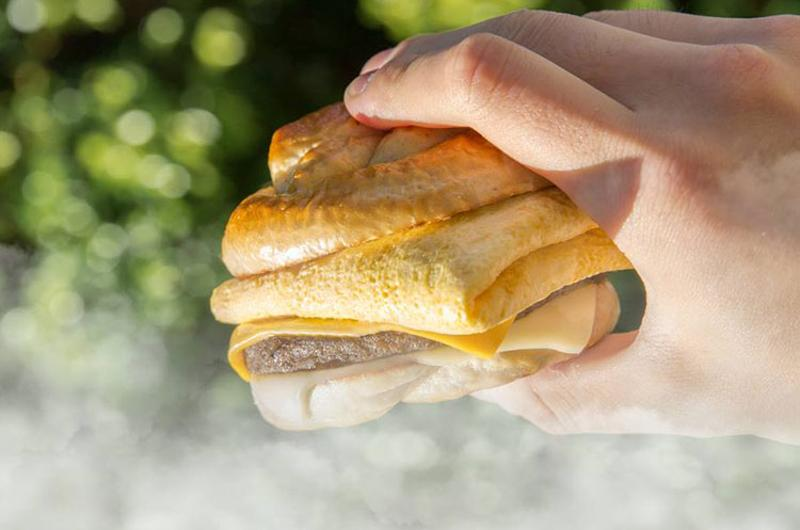 carls jr pretzel breakfast sandwich