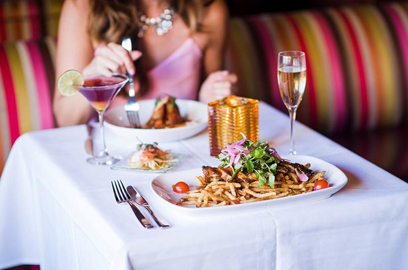 carnivale table food