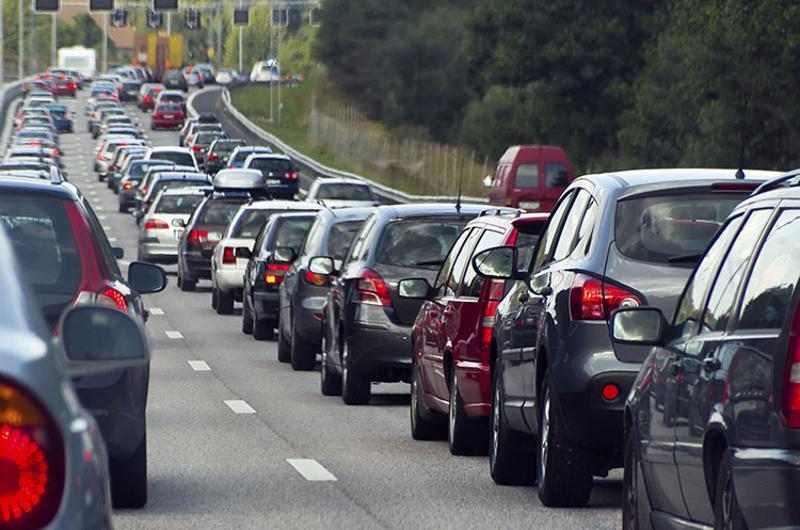 cars traffic lanes