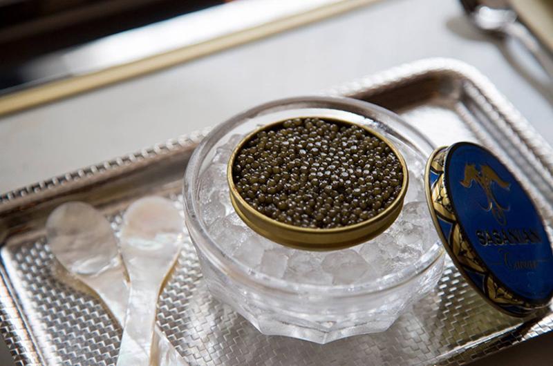 caviar cart