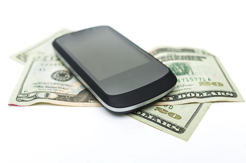 cell phone money
