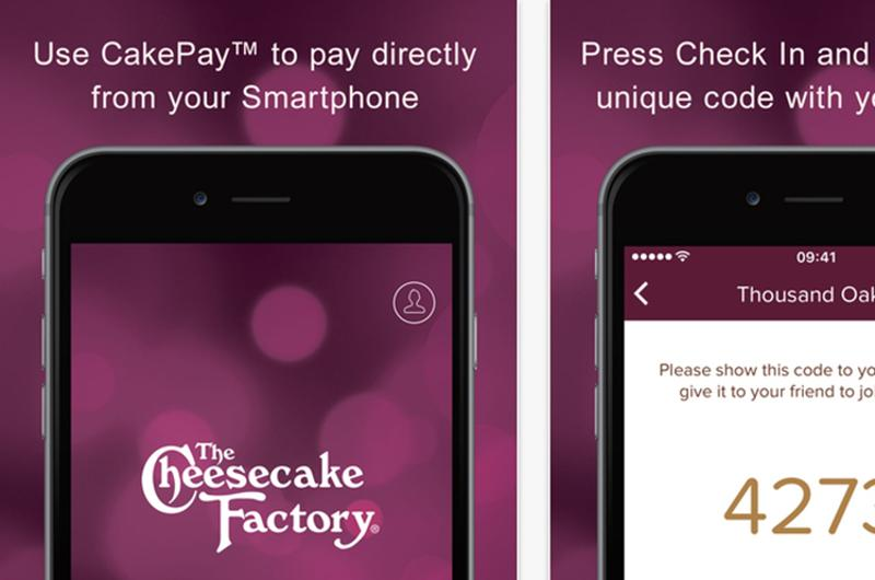 cheesecake factory app