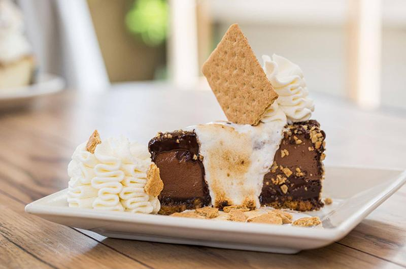 cheesecake factory smores