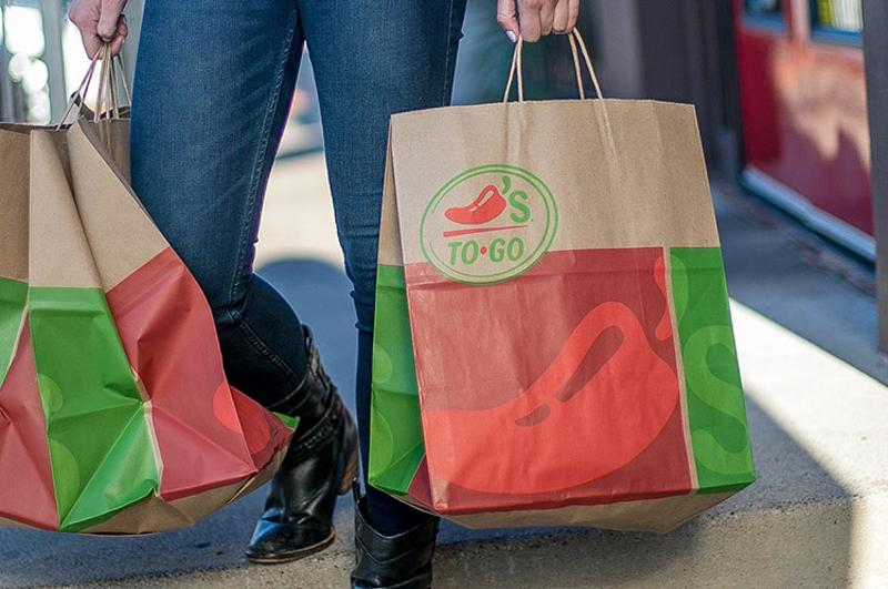 chilis takeout bags