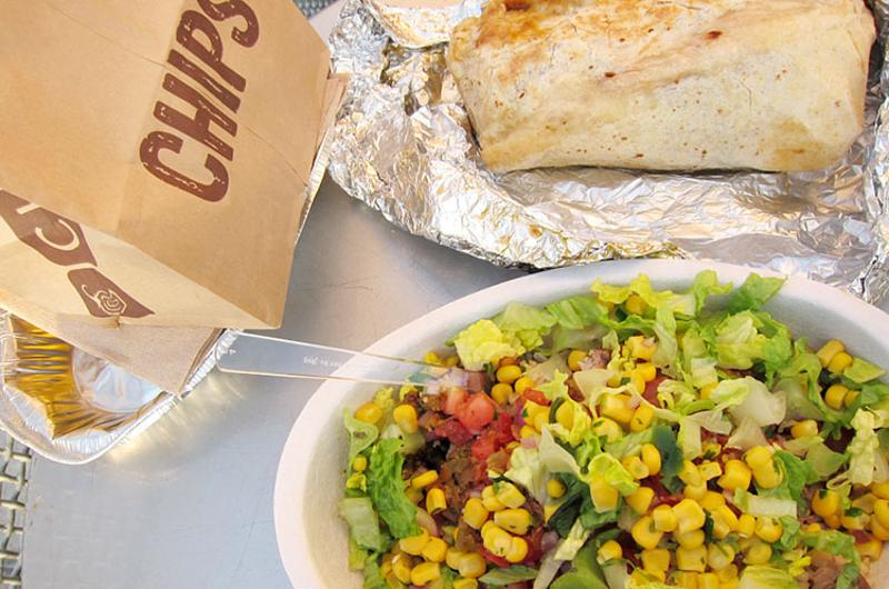 chipotle chips bowl burrito