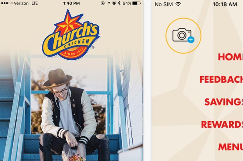 churchs chicken app