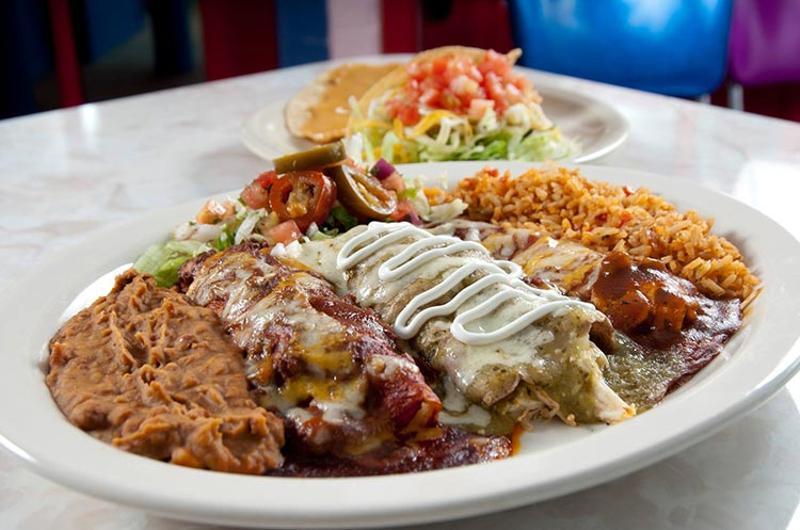 chuys enchilada combo