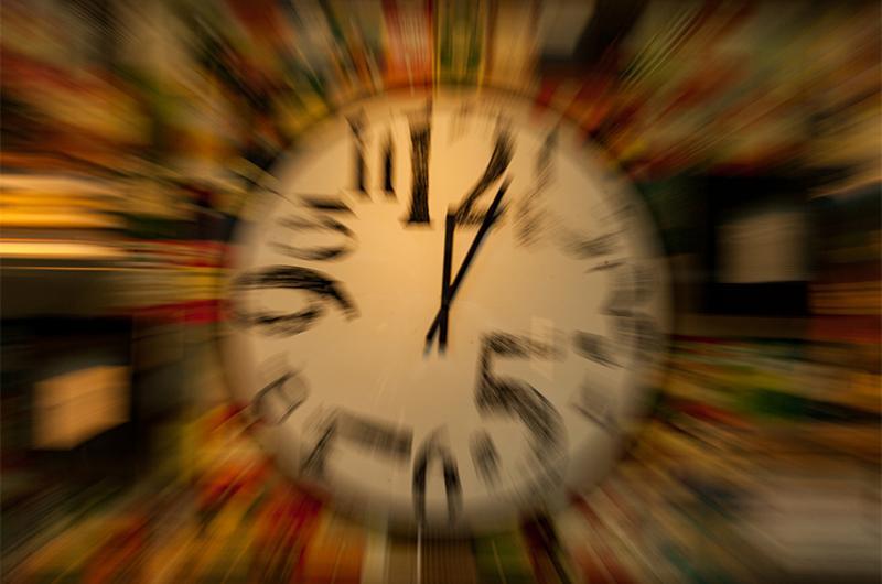clock time warp