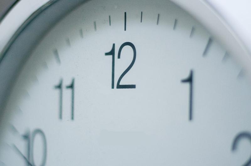 restaurant clock
