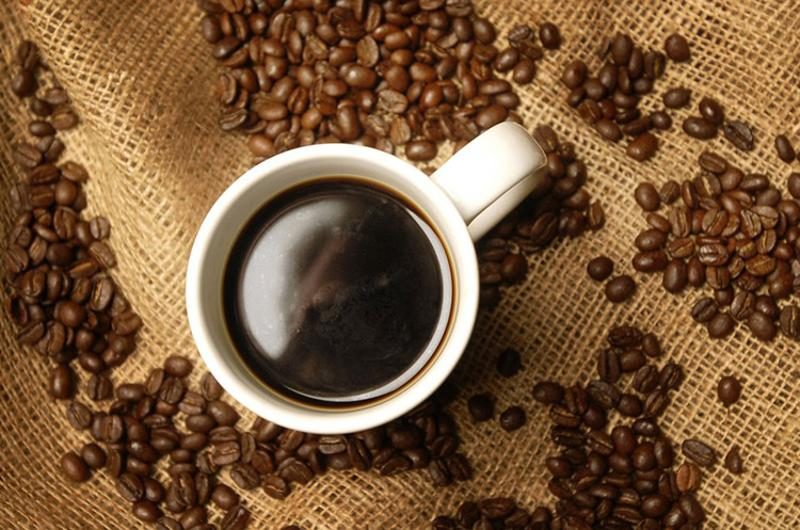 coffee mug beans