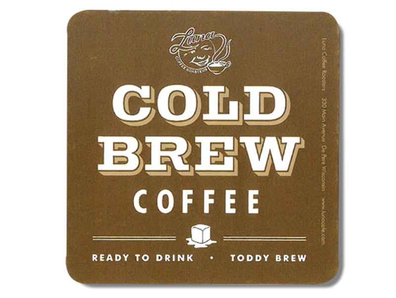 Cold Brew Coffee drink coaster