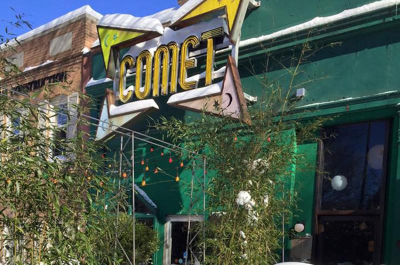 comet ping pong exterior