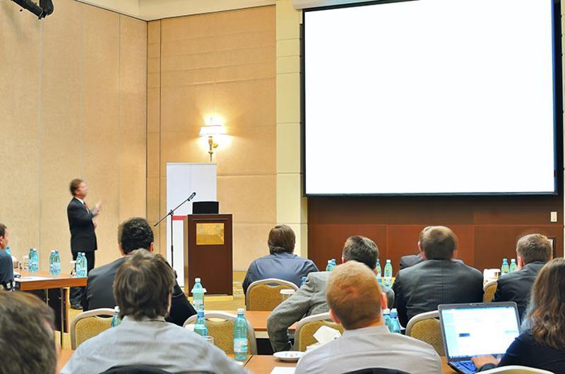 conference presenting idea