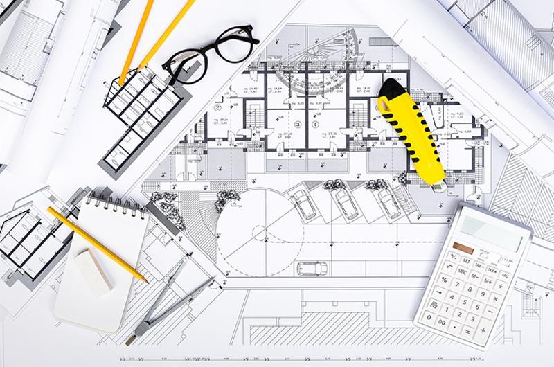 construction plans drawing tools calculator
