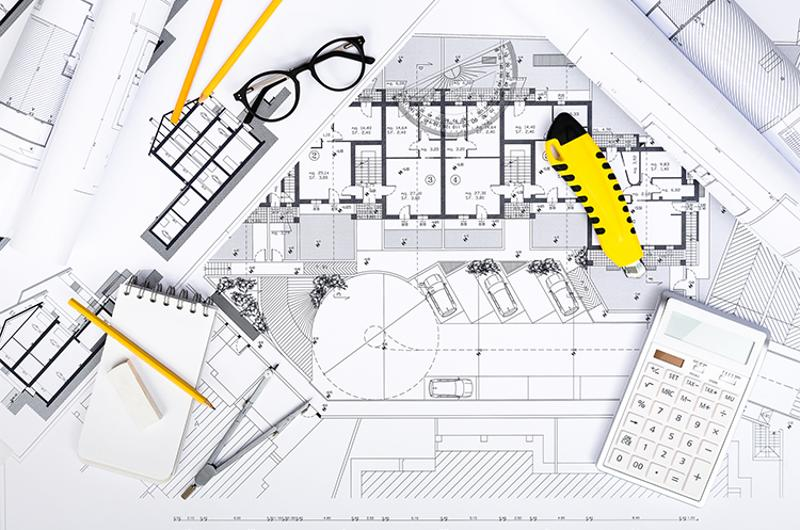 construction plans drawing tools calculator