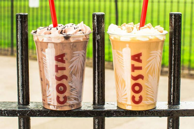 costa coffee coolers
