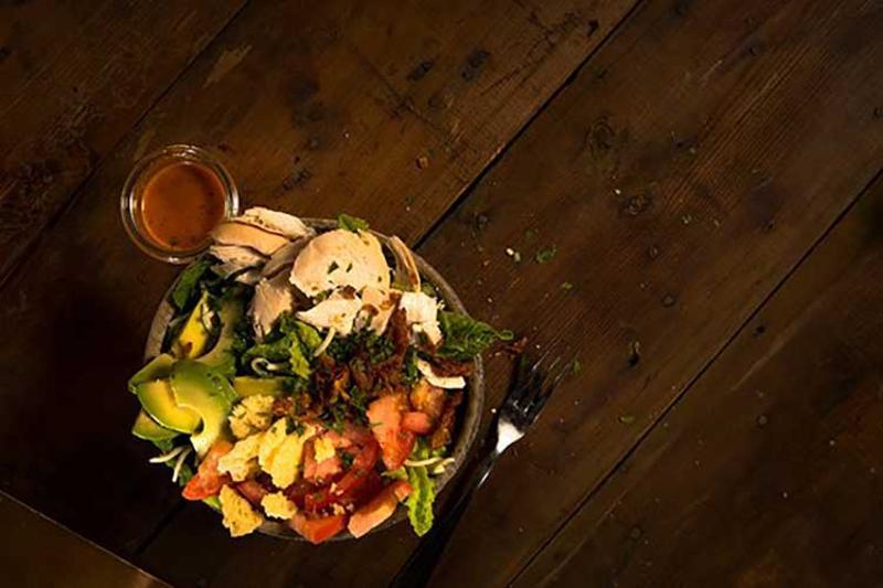 cowboy chicken monterey salad