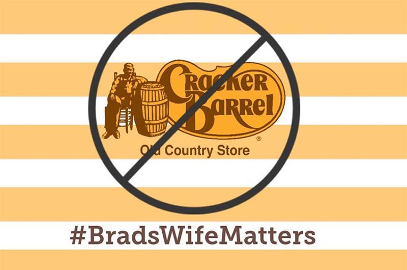 cracker barrel brads wife