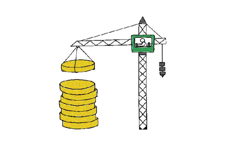 crane money graphic